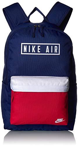 Nike Rucksack Heritage 2.0 Air GFX, Herren, Tasche, BA6022, Blau/Rot/Weiß, Misc
