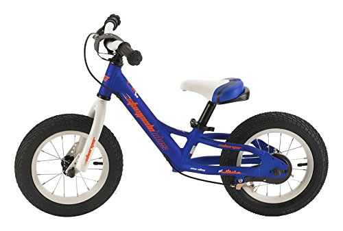 Stampede Bikes Charger Kids Balance Bike, 12', Blue