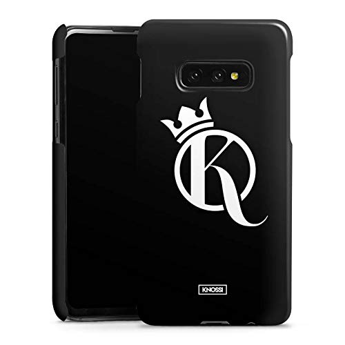 DeinDesign Premium Case kompatibel mit Samsung Galaxy S10e Smartphone Handyhülle Hülle glänzend Knossi Youtuber Krone