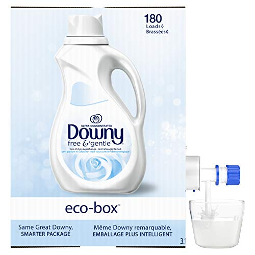 (16% OFF) Downy Eco-box Ultra Concentrated Liquid Fabric Softener Free & Gentle $11.38 Deal
