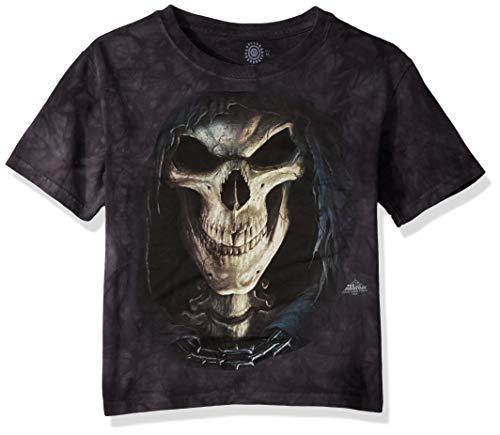 The Mountain Unisexe Adulte Tete Mort T Shirt Manches Longues M