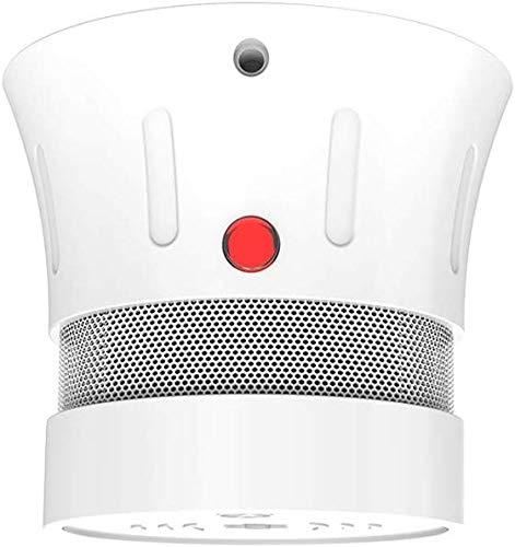 FORLIFE | Mini-rookmelder | 5-jarige batterij | Brandmelder | EN14604 | CE-gecertificeerd | Foto-elektrische sensor | Rookmelders met testknop | Waarschuwing in geval van bijna lege batterij | Set van 5 | FSD001