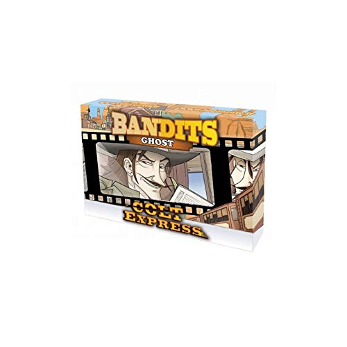 Asmodee ASMLUDCOEXEPGH Colt Express Bandits Expansion-Ghost, Mehrfarbig