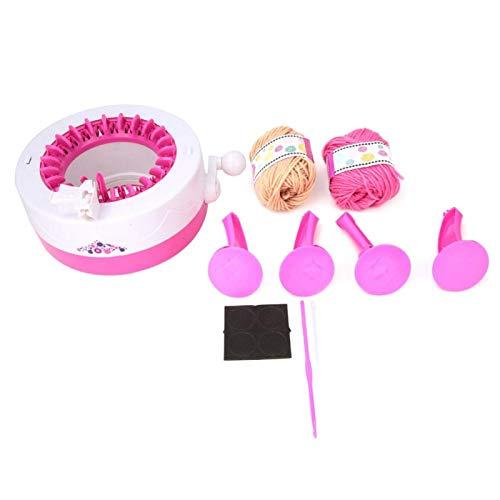 Machine à tricoter à la main, Machine à coudre à double mode pour enfants, écharpe en plastique pour enfants, tissage pour enfants, couture à bricoler pour les tricoteurs débutants