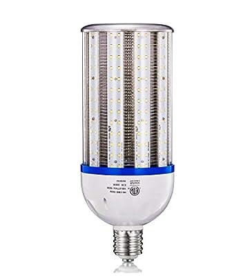 Led Corn Cob Light Bulb 5000K Lighting Bulbs Flood Metal Halide CFL HPS HID Lamp Replacement 200 Watt 300 Watts 600W Equivalent High Lumens Bay Lights Fixture