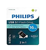 Philips USB Flash Drive 2-in-1 16GB, USB3.1 - USB-C