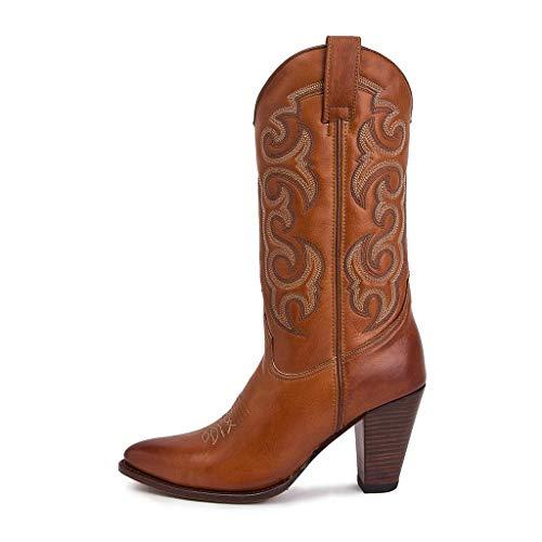Sendra Boots - 13549 Eva Salvaje Cuoio us Cuero-38