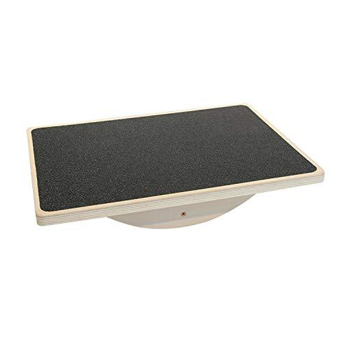 WYYHAA Holz Balance Board, Kippbrett, 15,7-Zoll-Holz Stehpult Zubehör Für Büro, Gym & Startseite |