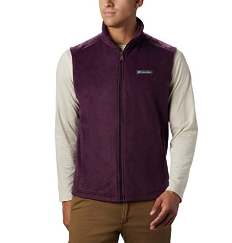 Columbia Men's Size Steens Mountain Vest, Black Cherry, 2X Tall