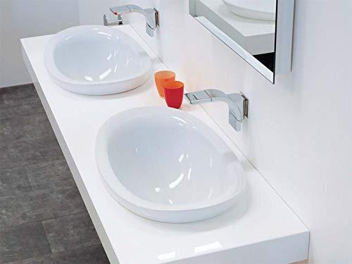 Flaminia Waschbecken Ich: sich eingebaut Aufsatzwaschbecken (io4260) weiß