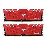 Team DDR4 3200Mhz(PC4-25600) 8GBx2枚(16GBkit) デスクトップ用メモリ ハイスピードタイプ Dark Zシリーズ 日本国内無期限保証