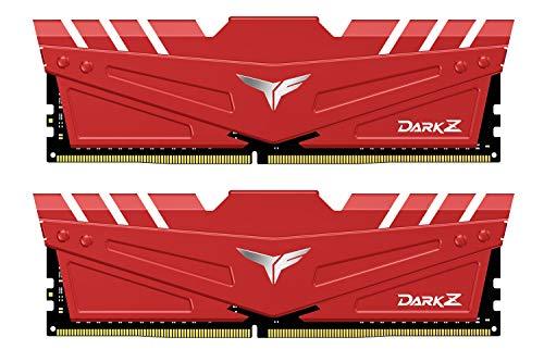 Team DDR4 3600Mhz(PC4-28800) 8GBx2枚(16GBkit) デスクトップ用メモリ ハイスピードタイプ Dark Zシリーズ 日本国内無期限保証