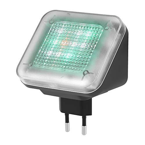 Donpow Seguridad para el hogar TV Simulador de luz con Temporizador de Sensor de luz Incorporado para ladrón Intruso Ladrón disuasivo Dispositivo de prevención del delito