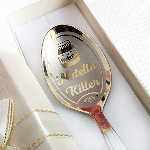 Nutella-Killer-Löffel – Nutella-Löffel in Geschenkbox – personalisierbarer Löffel – Löffel für Geburtstag in Geschenkbox – Andenken