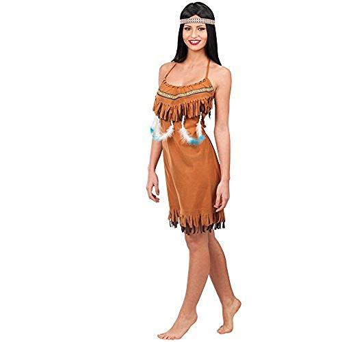 Carnival Toys 83225 - traje de la mujer india para las mujeres, Universal S, M