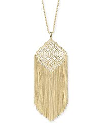 gold frilla necklace by Kendra Scott Kingston
