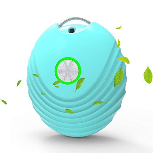 Hypoallergene draagbare luchtreiniger, mini huishoudelijke negatieve ionen luchtreiniger, draagbare stofverwijderende luchtreiniger, luchtgeurreiniger, roker, pollen, allergenen verwijderen,B