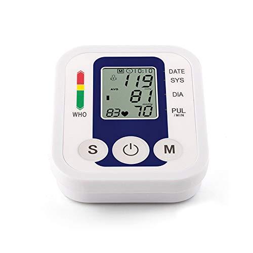 LIUXING-health Druckwächter 2er Pack Komfort-Oberarm-Blutdruckmessgerät mit 2-Benutzer-Modus, USB-Ladeschnittstelle und Speicherkarten-Schnittstelle (Größe : Free Size, 语音 Voice : N)