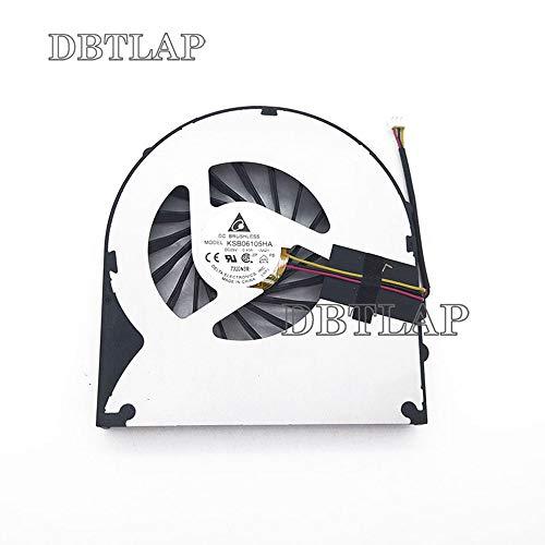 DBTLAP Ventilador de la CPU del Ordenador portátil para Acer Emachines G730 G730Z G730ZG CPU Ventilador
