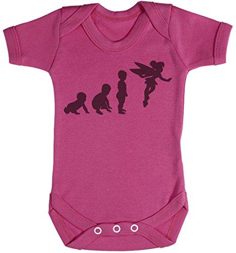 Baby Evolution to A Fairy Body bébé - Gilet bébé - Body bébé Ensemble-Cadeau - Naissance Rose