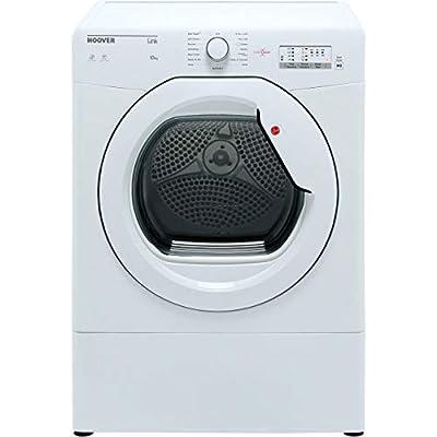 Hoover HLV10LG Freestanding Vented Tumble Dryer, Sensor Dry, 10 kg, White