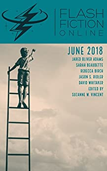 Flash Fiction Online June 2018 by [Jared Oliver Adams, Rebecca Birch, Sarah Beaudette, David Whitaker, Jason S. Ridler, Suzanne W. Vincent]