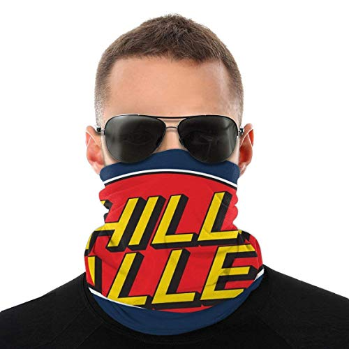 MJKII Schal Sturmhauben Bandana Hill Valley Hoverboards Back to The Future Variety Head Scarf Face Magic Headwear Neck Gaiter Face Bandana Scarf