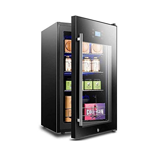 LKNJLL Réfrigérateur et Boissons Cooler - Mini-réfrigérateur avec Porte en Verre for Soda bière ou de vin - Petit Distributeur Boisson Machine for Bureau ou Bar