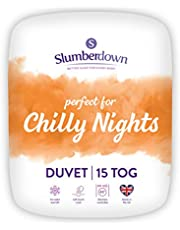Slumberdown Chilly Nights Double Duvet 15 Tog Winter Duvet Double Bed