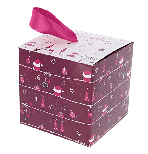 ZMILE Cosmetics Zmile Cosmetics Adventskalender 'Cube' (purple), 365 g