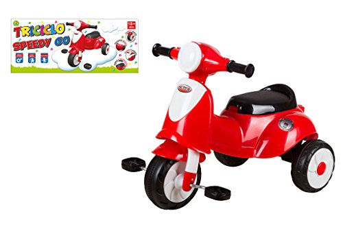 Mazzeo Giocattoli Triciclo Speedy Go Rosso
