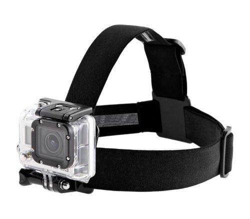 Kopfband-Halterung Head Strap Mount für GoPro Kamera Sportaufnahmen
