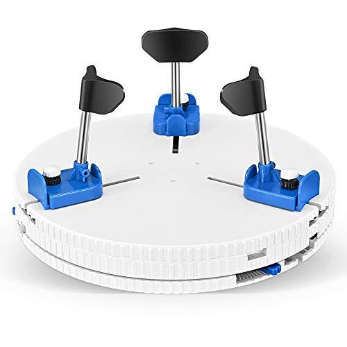 KKTECT Keramik Reparatur Embryo Clip Einstellbare Plattenspieler-Klammer für Keramikmaschinen Pottery Teaching Turntable Clamp Keramikreparaturwerkzeuge für keramische Anfänger in Schulen, Clubs