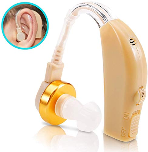Hoornversterker geluidsversterkers voor ouderen Invisible geluidsversterkers, links en rechts oor