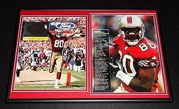 Jerry Rice Framed 12x18 Career Highlights Photo Set 49ers