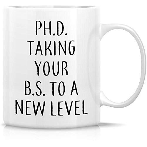 Doctor. Llevando tu BS a un nuevo nivel 11 Oz Tazas de café de cerámica: regalos de cumpleaños divertidos, sarcasmos, sarcásticos, motivacionales e inspiradores para amigos