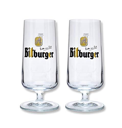 BITBURGER Pilstulpen-Set 2-tlg.