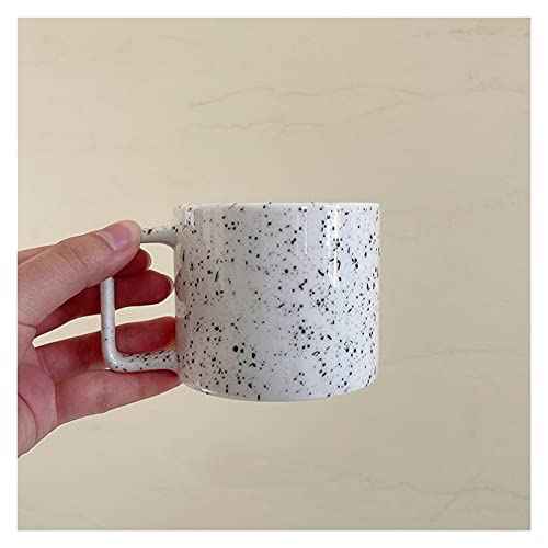 YUANLIN porzellantasse Kreative nordische Tasse Square Handgriff Cups Keramik Becher Kaffeetasse Milch Tee Tassen Drinkware porzellantasse Bone China