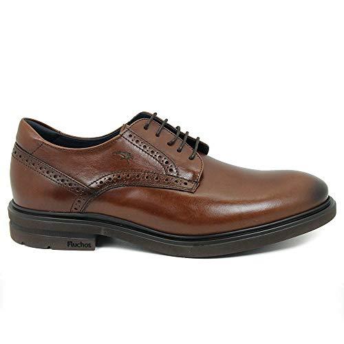 Zapatos fluchos f0630 Caballero Marron