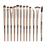 BOLANQ 12 StüCk Make-Up Lidschatten Pinsel Highlighter Pinsel Make-Up Pinsel Set