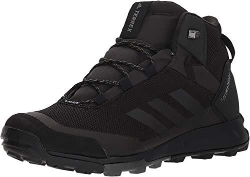 adidas outdoor Men's Terrex Tivid MID CP Walking Shoe, Black/Black/Grey Four, 9.5 D US