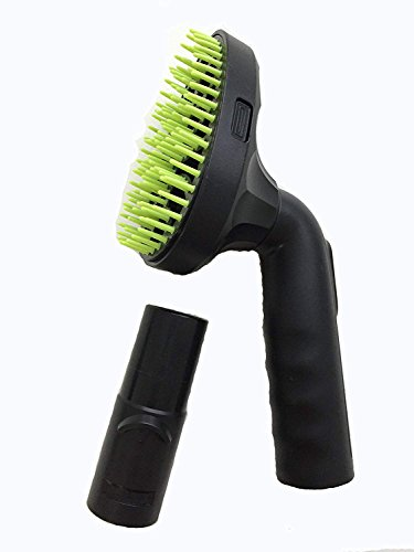 Green Label Pet Hair Vacuum Attachment Grooming Brush Tool Compatible with Dyson Vacuum Cleaners