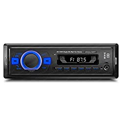 Dulcet DC-F30X 220W High Power Stereo Output Universal Fit Single Din Mp3 Car Stereo with Dual USB Ports/Bluetooth/Hands Free Calling/FM/AUX Input/SD Card Slot/Remote Control,dulcet,DC-F30X