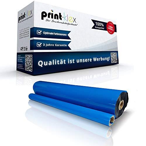 Print-Klex Kompatible Thermorolle für Brother Fax 1010 1010 E 1010 Plus 1010 Series 1020 1020 E 1020 P 1020 Plus PC 201 Druckertransferband Easy Plus Serie