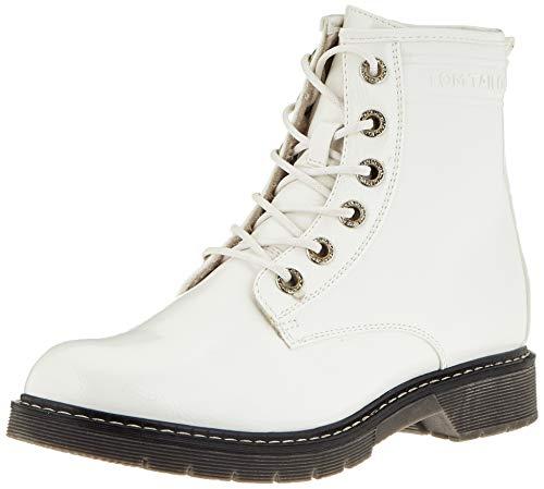 TOM TAILOR 9092801 półdługie kozaki, biały - biały - 39 eu