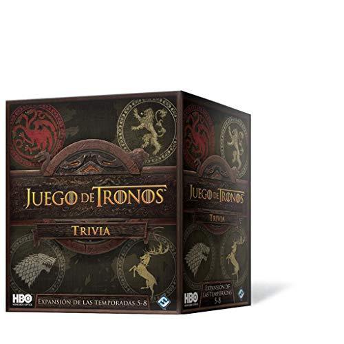 Fantasy Flight Games- Juego de Tronos Trivia Temp. 5-8, Color (HBO17ES)
