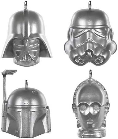 Hallmark Keepsake Christmas Ornaments 2020 Mini Star Wars Helmets Set of 4 product image