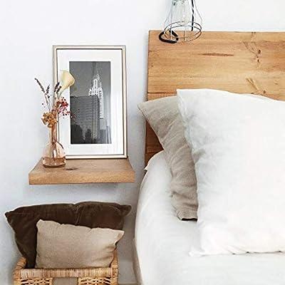 ✔ Mesita de noche de madera maciza hecha a mano por nuestros artesanos ✔ Medidas: 30x20cm ✔ Mesita perfecta para complementar nuestro cabecero Nala (referencia B07NBSMQJD). El toque de la madera dará un toque sobrio y moderno a tu habitación ✔ Color:...
