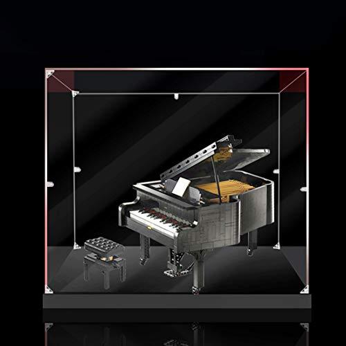 ColiCor Estuche de acrílico para Lego Lego Grand Piano 21323, caja de exhibición a prueba de polvo, compatible con Lego 21323