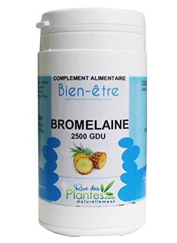 Bromélaïne 2500GDU 120 gélules de 595mg